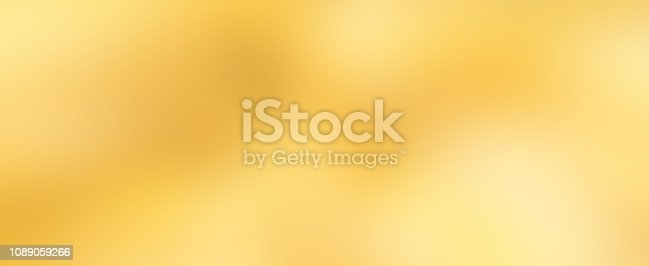 abstract blur beautiful golden bronze metallic surface panoramic background for design element as banner,wedding ads,merry christmas,happy new year and concept