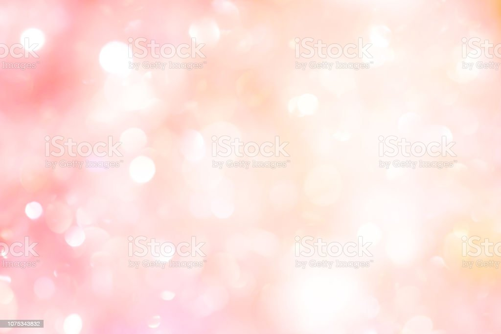 abstract blur beautiful pink color background with bokeh light party for merry christmas, happy new year celebrate and valentines day concept - Foto stock royalty-free di Accendere (col fuoco)