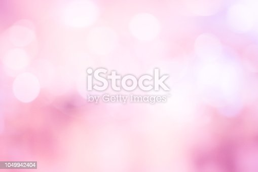 istock abstract blur beautiful pink color pastel tone background with double exposure of bokeh for valentine's day , marriage card design concept 1049942404