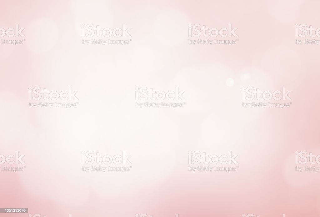 abstract blur beautiful pink color pastel tone background with double exposure of bokeh for valentine's day , marriage card design concept stock photo