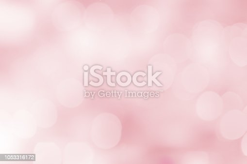 istock abstract blur beautiful pink color pastel tone background with double exposure of bokeh for valentine's day , marriage card design concept 1053316172