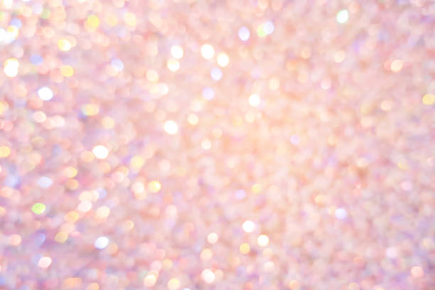 abstract blur beautiful pink or rose gold color background with bokeh light party for merry christmas, happy new year celebrate and valentines day concept - femininity stock pictures, royalty-free photos & images