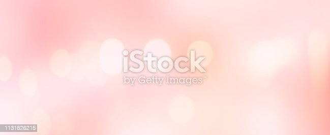 1068830592istockphoto abstract blur beautiful pink or rose gold color panoramic background with bokeh light party for merry christmas, happy new year celebrate and valentines day 14 february festive concept 1131826215