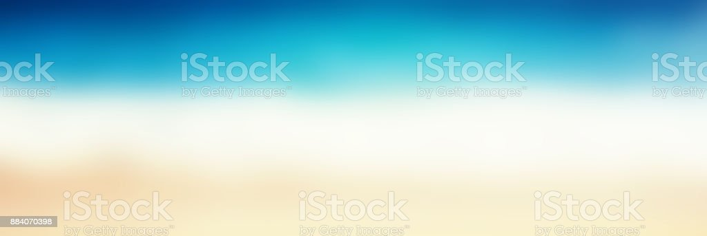 Abstract blur beautiful tropical beach and sea landscape for background - defocused summer image'n stock photo