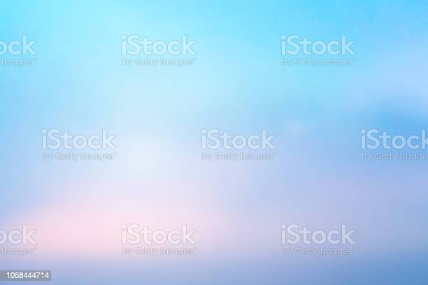 Photo of abstract blur beauty skyline scene with colorful background and bright light effect for design as banner, ads and presentation concept