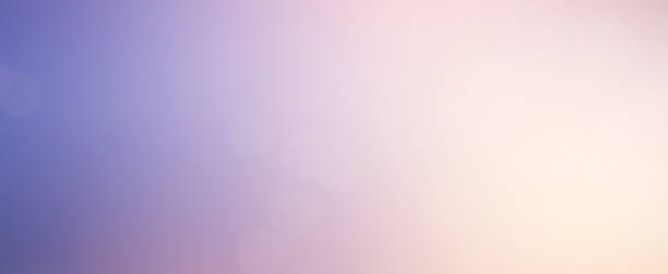 abstract blur beauty skyline scene with colorful background and bright light effect for design as banner, ads and presentation concept - colore lavanda foto e immagini stock