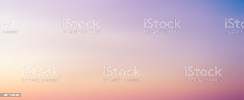 abstract blur beauty skyline scene with pastel multi color background and bright light effect for design as banner, ads and presentation concept stock photo
