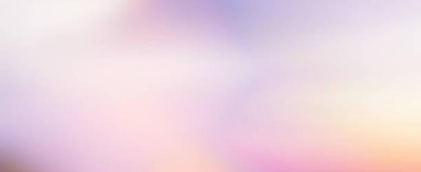 abstrakcyjne rozmycie piękna scena skyline zachód słońca z pastelowym kolorem tła jako baner, reklamy i koncepcja prezentacji - pastelowy kolor zdjęcia i obrazy z banku zdjęć