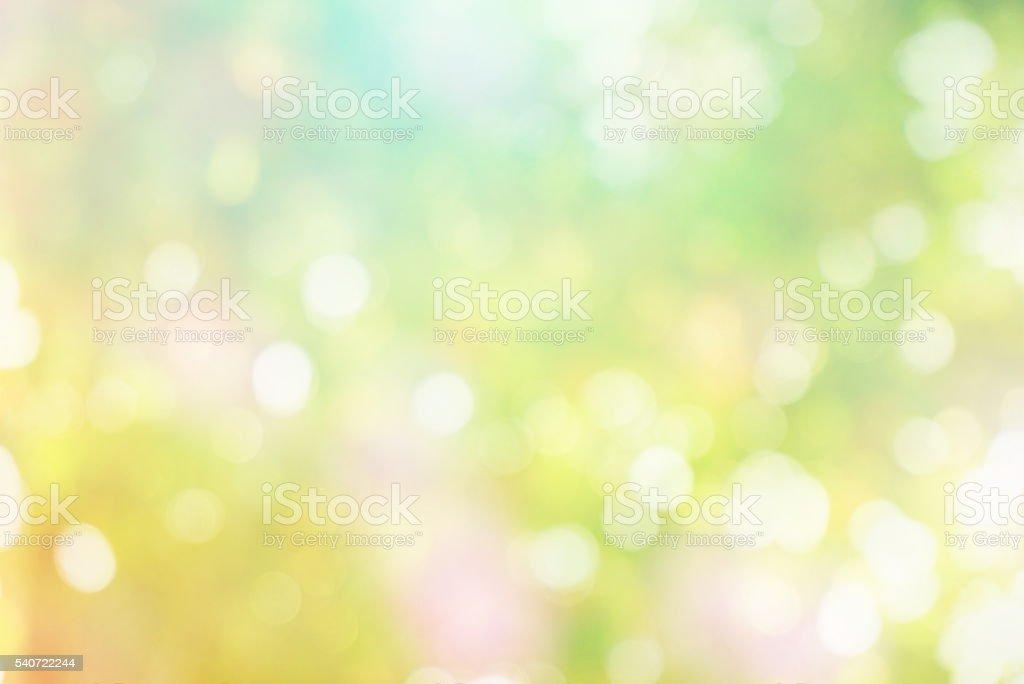 Abstrakte verwischen in Pastellfarben Ton Frühling-Konzept – Foto