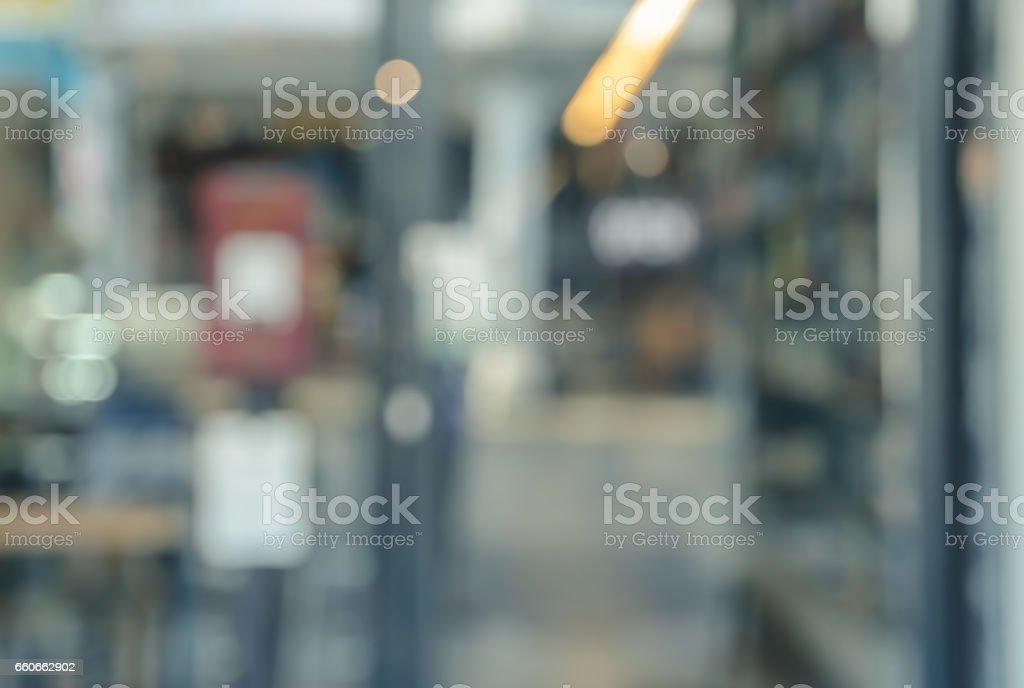 Abstrakt Buchhandlung Hintergrund weichzeichnen – Foto