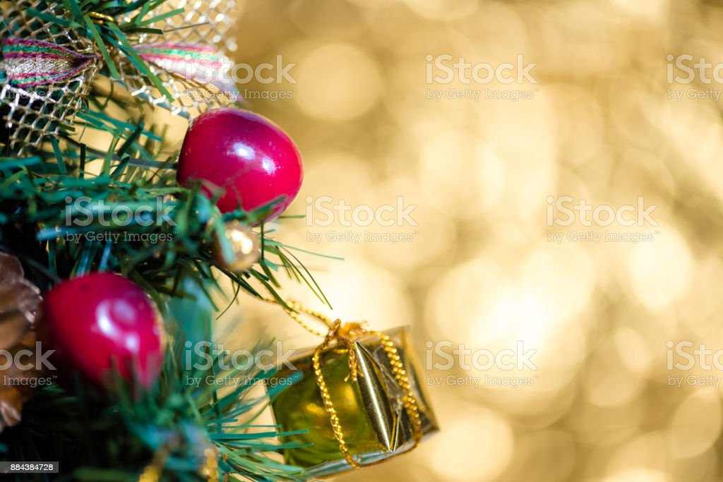 Abstract Blur Christmas Tree Bokeh Background Stock Photo More