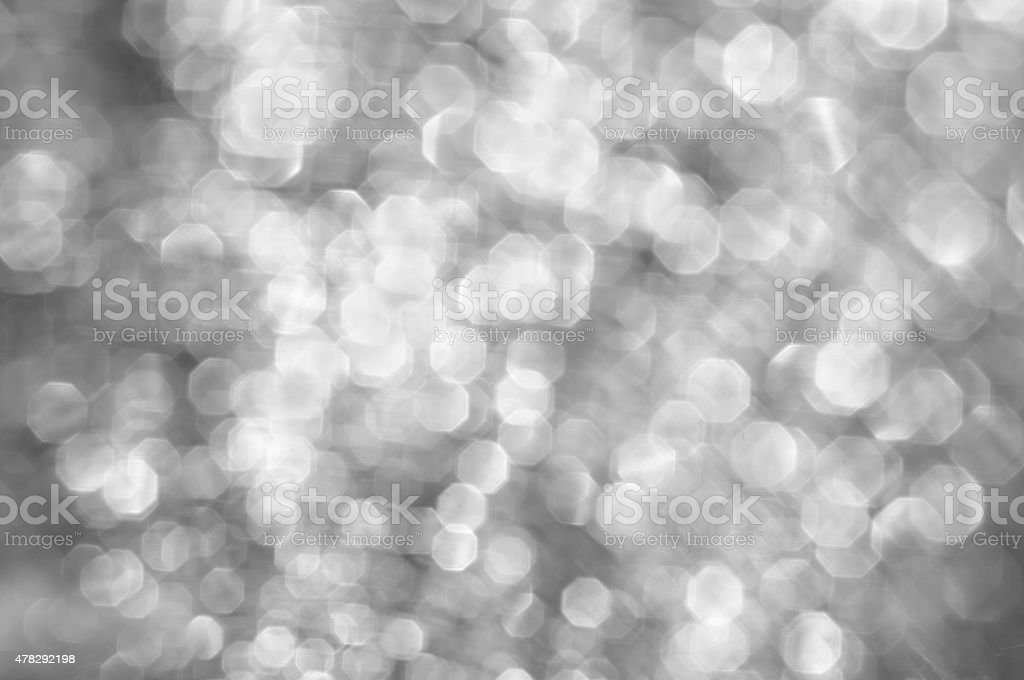 Abstract blur colorless bokeh background. stock photo