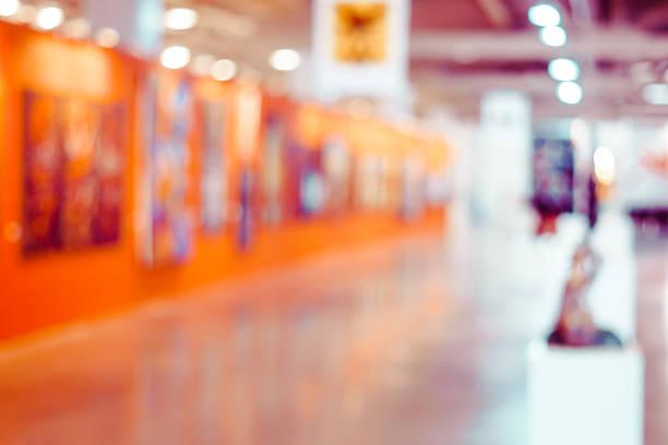 Abstract zu verwischen Galerie für zeitgenössische Kunst für – Foto