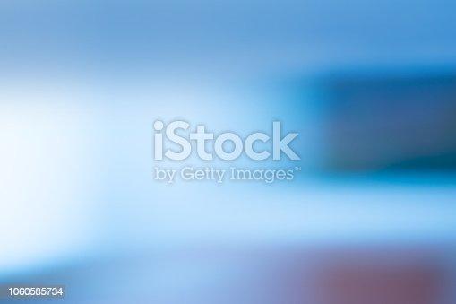 istock Abstract blur defocus interior for background. Blur office interior  background concept 1060585734