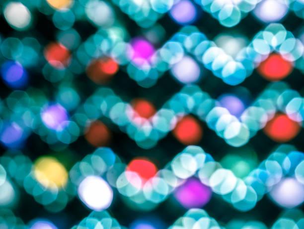 abstrakte blur de-fokussiert, out of focus - weihnachten de stock-fotos und bilder
