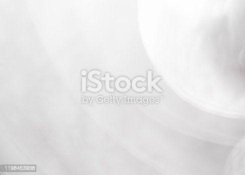 1060912842 istock photo Abstract blur exposure of white silver color background with bokeh light for design element concept 1198453938