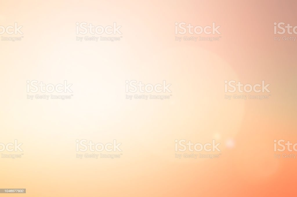 abstract blur glowing orange gold of morning  sky color tone background with white sunshine light effect for design as banner,presentation,ads concept - Zbiór zdjęć royalty-free (Abstrakcja)