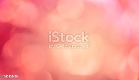 abstract blur gradient red and orange tone color gradient tone with circle bokeh light background for merry christmas and happy new year season concept
