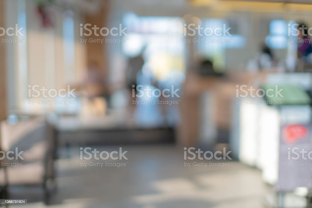abstract blur image background of airport terminal corridor royalty-free stock photo