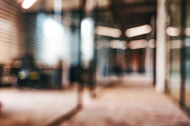 Abstrakte unscharfe Bild Hintergrund des Flughafen Terminal Korridor – Foto