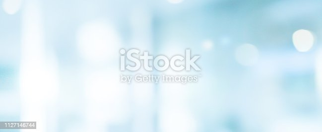 1068830604 istock photo abstract blur inside interior of modern cleaning laboratory workplace in panoramic background with bokeh light for design 1127146744