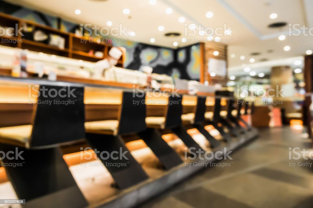 Abstract Blur Japanese Restaurant Interior For Background Stock Photo Download Image Now Istock