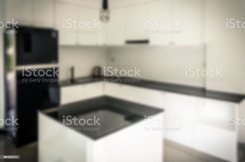 Abstract Blur Kitchen - Royalty-free Abstract Stock Photo
