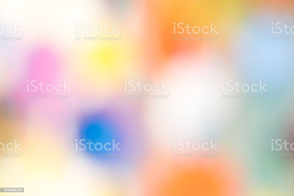 Abstract blur light gradient colorful wallpaper background. stock photo