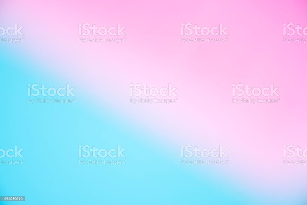 Abstract Blur Light Gradient Pink And Blue Color Wallpaper