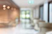 istock Abstract blur lobby in hotel interior background 1269899153