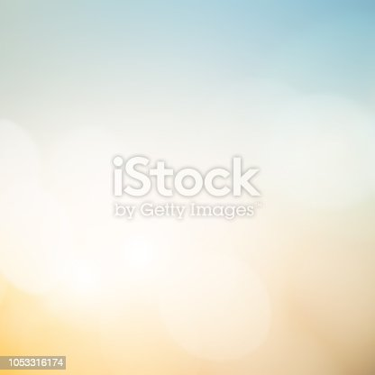 istock abstract blur multi color pastel square background of skyline in early morning time with double exposure bokeh light effect for design concept 1053316174