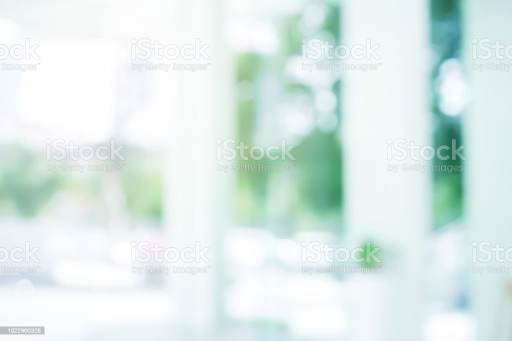 abstract blur of modern organic loft style of interior building background for presentation design element concept royalty-free stock photo