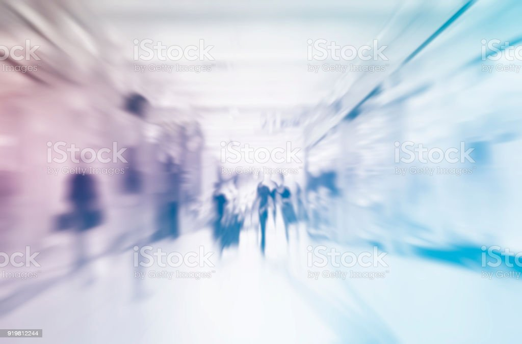 Abstrakten Menschen Hintergrund weichzeichnen – Foto