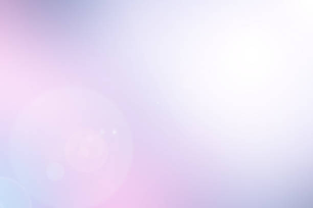 abstract blur purple color tone background with glowing light effect for design element as presentation,banner,ads - colore lavanda foto e immagini stock