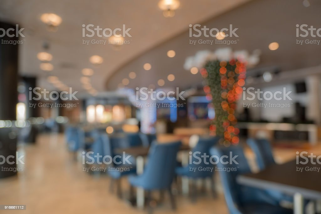 Abstract Blur Restaurant Interior For Background Blur Coffee Shop Or Cafe Restaurant With Abstract Bokeh Light Image Background Stock Photo Download Image Now Istock