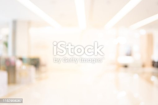 1019217082 istock photo Abstract blur shopping mall background 1152958087