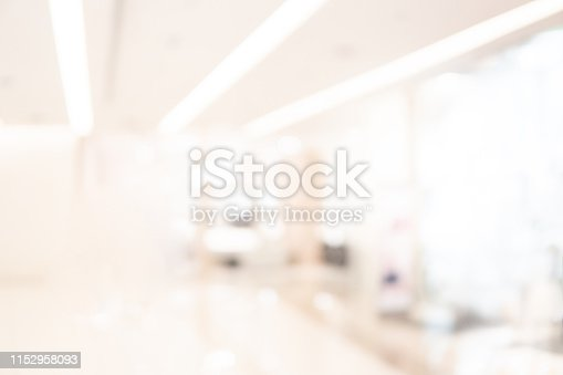1019217082 istock photo Abstract blur shopping mall background 1152958093