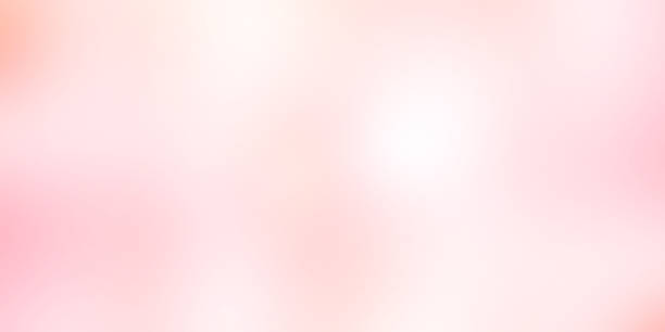 abstract blur softness beauty pink and blush colorful image gradient with dark edge effect filer background for design as ads , banner for valentine day or wedding card or presentation concept stock photo