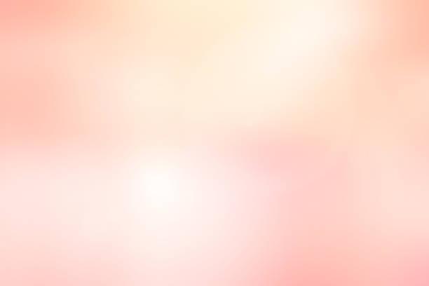 abstrakcyjne rozmycie miękkość piękno różowy i rumieniec kolorowy gradient obrazu z ciemnym efektem krawędzi filer tła do projektowania jako reklamy, baner na walentynki lub kartkę ślubną lub koncepcję prezentacji - pastelowy kolor zdjęcia i obrazy z banku zdjęć