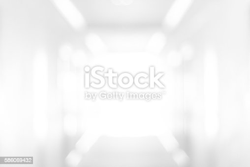 1040250650 istock photo Abstract blur white room background 586069432