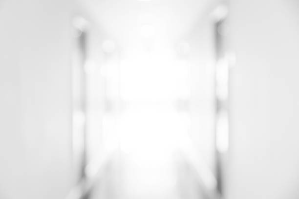 abstrakt oskärpa vitt rum för bakgrund eller bakgrund design - hospital studio bildbanksfoton och bilder