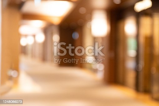 Abstract Blurred Background of lobby