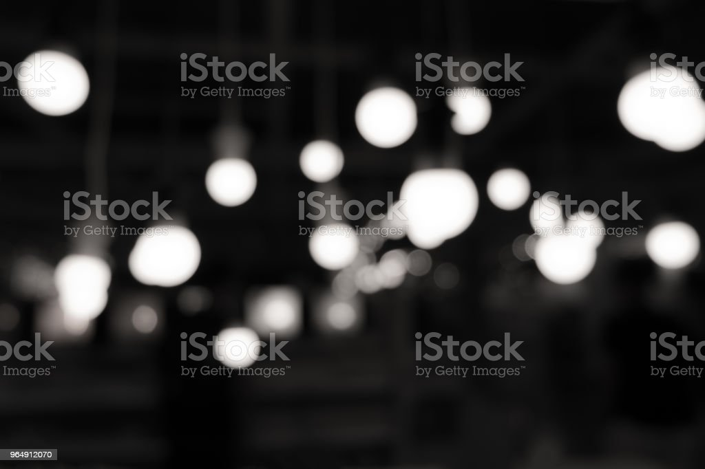 Abstract blurred background with bokeh of light royalty-free stock photo