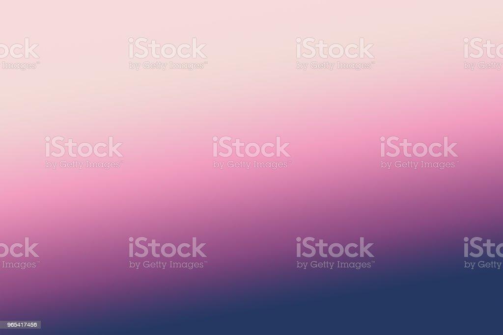 arrière-plan flou abstrait avec dégradé de couleur pantone. la lumière des couleurs de dégradé bleus, violettes et roses. concept de couleurs Pantone - Photo de Abstrait libre de droits