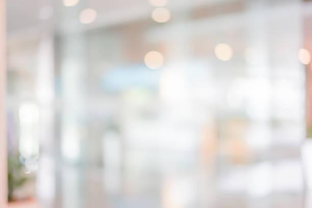 개요 흐리게 로비 리셉션 콘도미니엄 배경 bokeh 프레 젠 테이 션, 배너 디자인에 대 한 램프에서 빛의 아름 다운 인테리어 - 빗나간 포커스 뉴스 사진 이미지