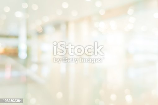 istock abstract blurred beautiful interior of lobby reception condominium background with bokeh light from lamp ,for presentation , banner design 1075802384