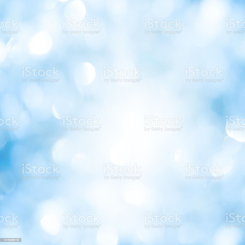 Abstract Blurred Blue Gradient Color Background With Glowing