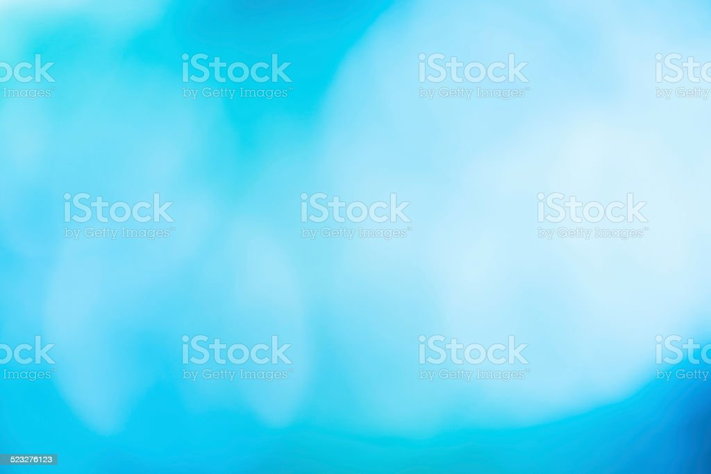 Abstract blurred bokeh background soft and dreamy blue and white royalty-free stock photo
