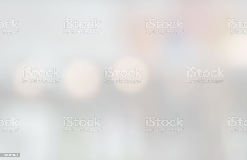 Abstract blurred bokeh light for background stock photo