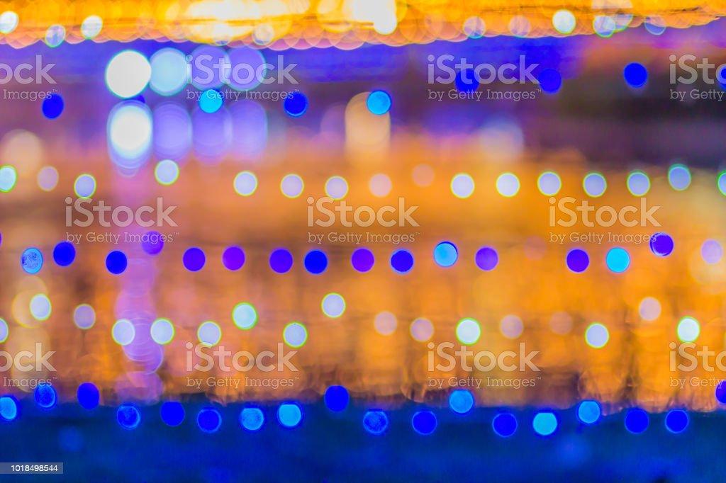 Led Bilder Weihnachten.Abstrakte Verschwommene Runden Bokeh Hintergrund Defokussierten Hintergrund Mit Bokeh Von Led Licht Dekoration Wahrend Weihnachten Und Neujahr